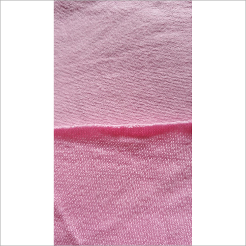 Pink Interlock Fabric