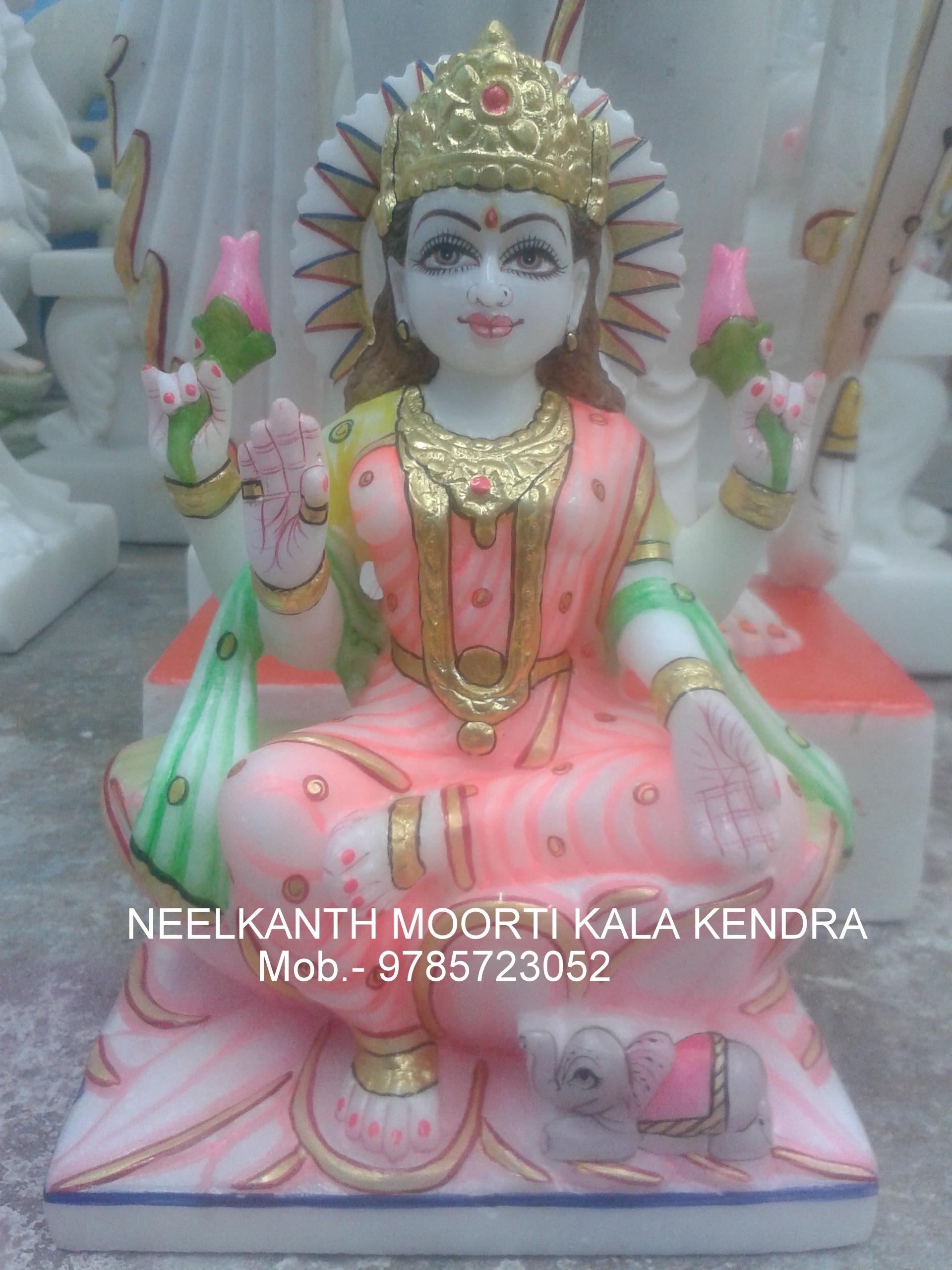 Marble Laxmi God Statue