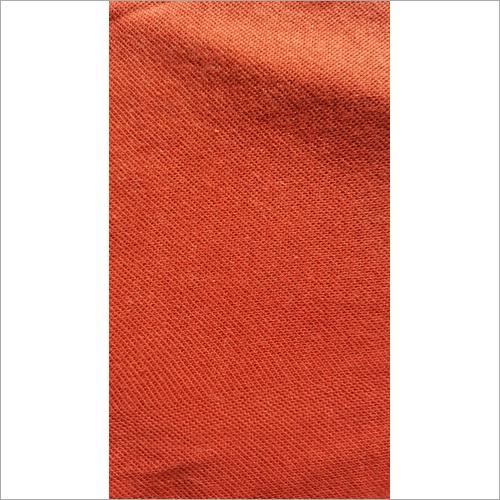 Orange Pique Fabric