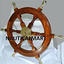 Ship Wheel & porthole Clock
