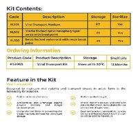 CLEAR & SURE TRANSPORT (VTM) KIT