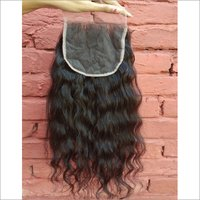 Raw Wavy closure 5x5