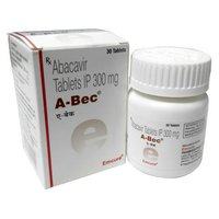 A-Bec Tablet (Abacavir (300mg) - Emcure Pharmaceuticals Ltd)