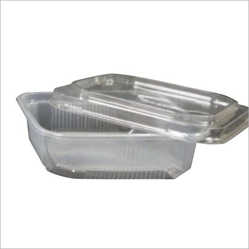 250 ml Square Disposable Plastic Food Container