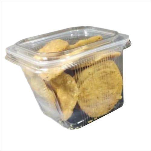 Square Disposable Plastic Food Container