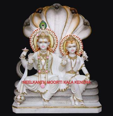 Vishnu laxmi God Statue