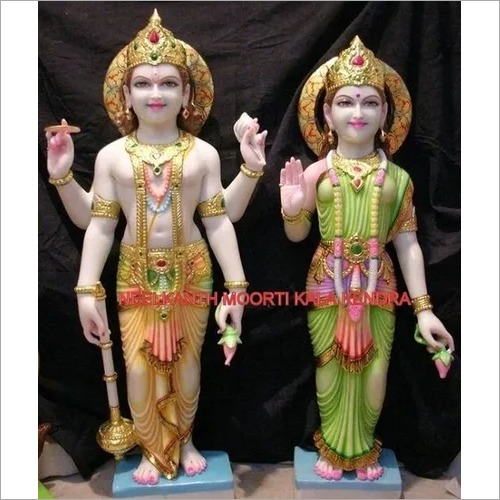 God Vishnu laxmi statue