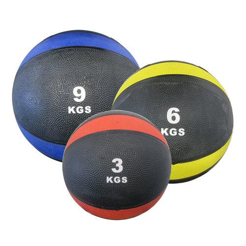 Rubber & Pvc Exercise Medicine Ball
