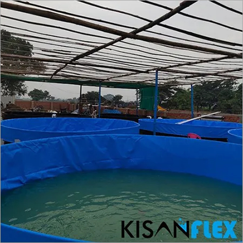 PVC Tarpaulin Tank For Fish Farming 650 Gsm With 5 Year Warranty