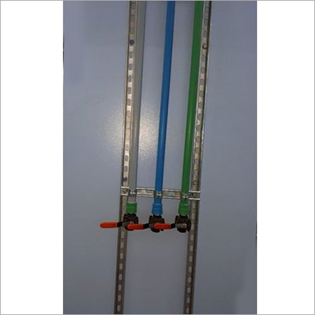 SS Pipe Support Slotted Channel