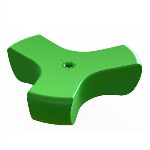 Green Plastic Knob