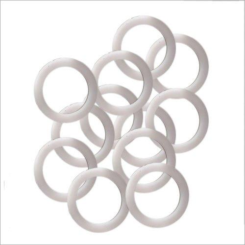 White Plastic Rings