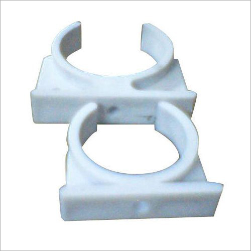 White Plastic Clamp
