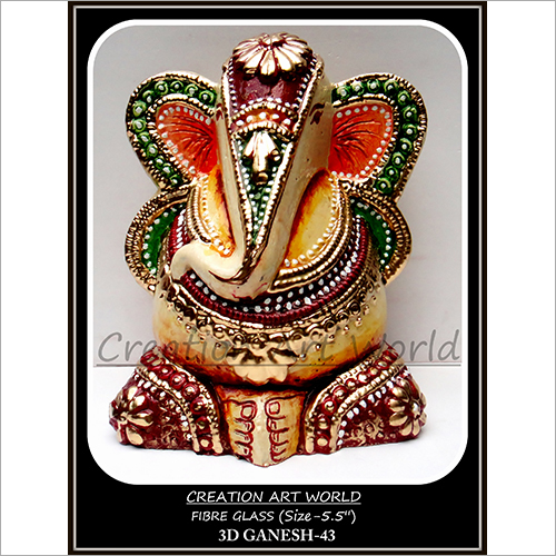 Three Dimensions Ganesha Statues