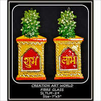 Tulsi Munch Shubh Labh Wall Hanging