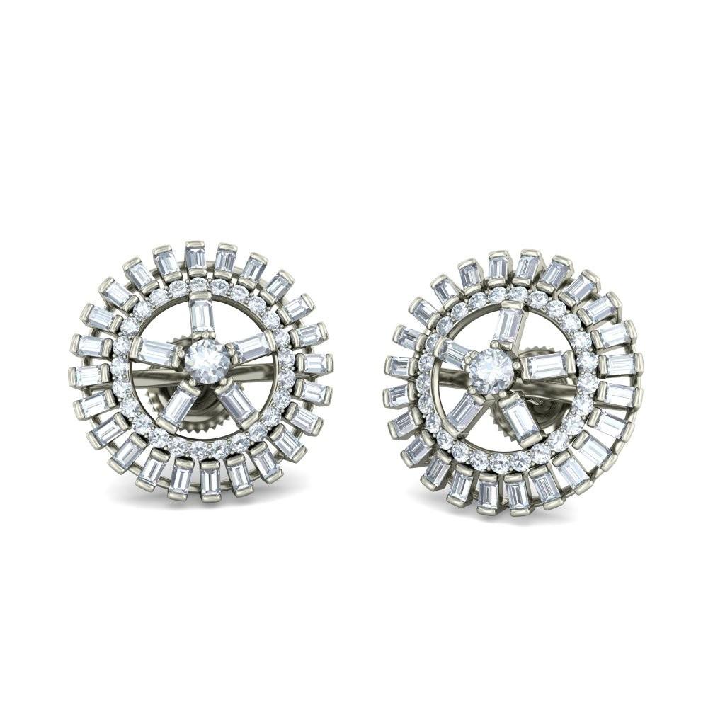 92.5 sterling silver ear studs