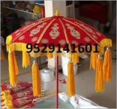 Velvet Wedding Umbrella