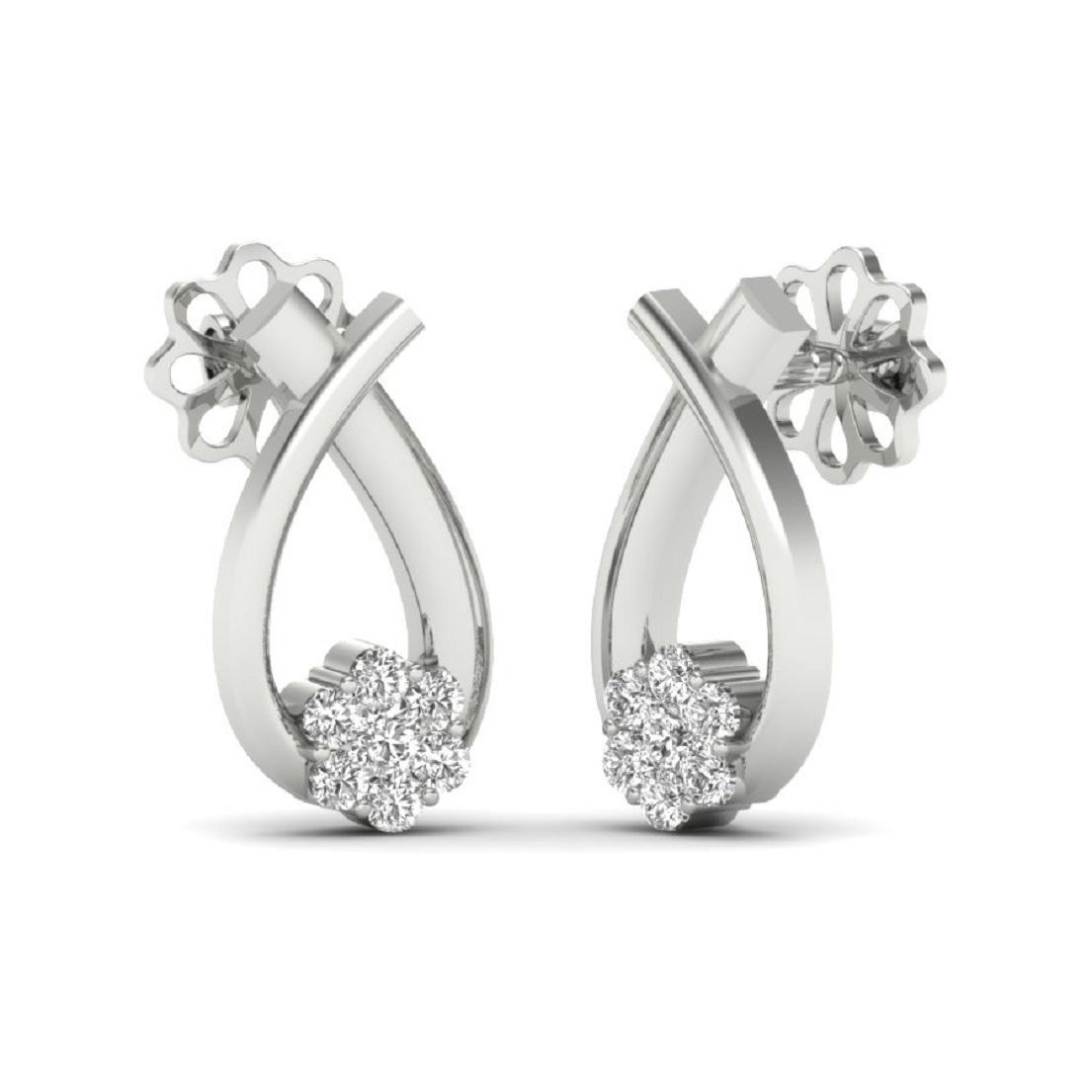 silver studs earrings
