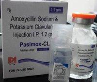 Pasimox cl 1.2g injection