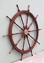 WOODEN SHIP WHEEL 48