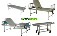 Hospital Metal Bed and Trolley