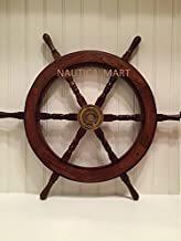 """30"""" Ship Wheel Wooden: Pirate Boat Nautical Fishing"""