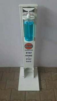 Ped oprated sanitizer machine