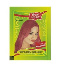 Excel s Naaz Burgundy Henna powder