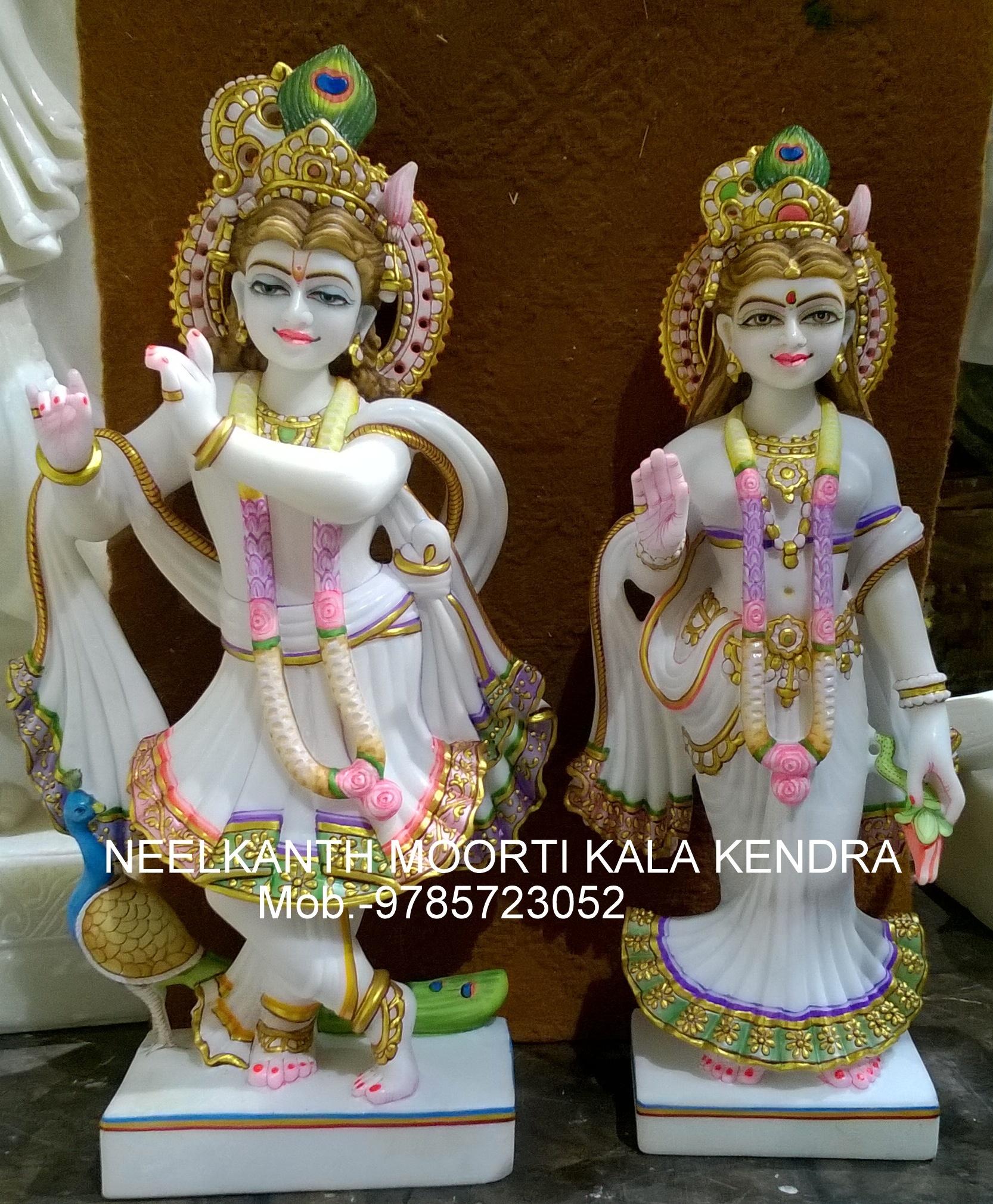 Marble Radha Krishna