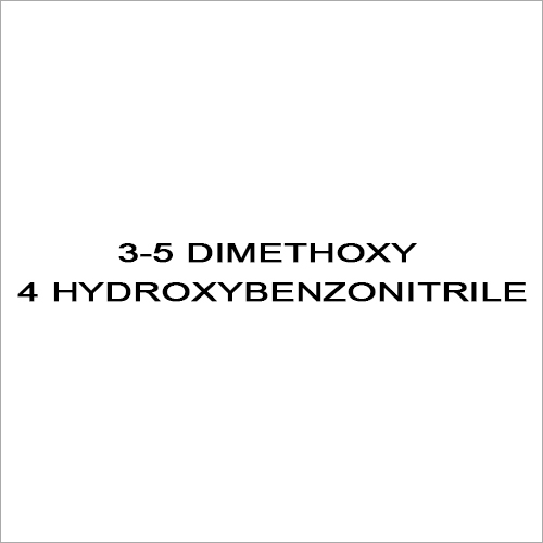 3-5 Dimethoxy 4 Hydroxybenzonitrile