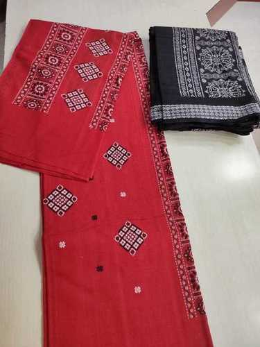 PURE BOMKAI SAMBALPURI FULL SUIT SET.