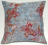 Paisely Kantha Cushion Cover