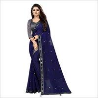 designer saree attech blouse