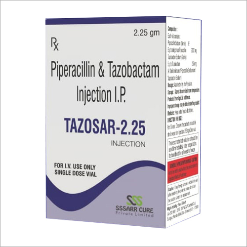 Piperacillin And Tazobactam Injection IP