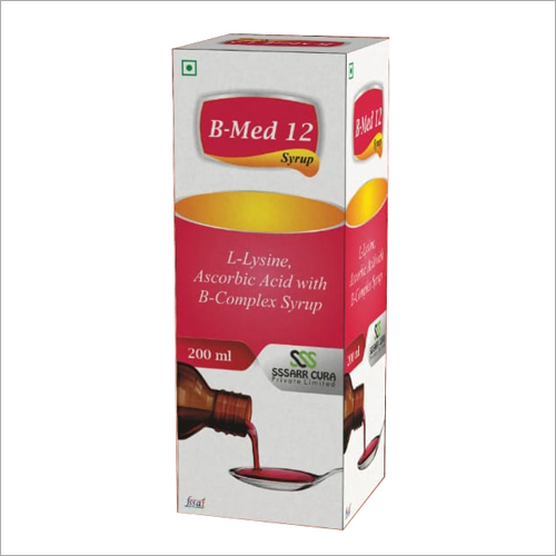 200 ml L-Lysine Ascorbic Acid with B-Complex Syrup