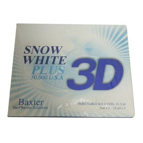 Snow White Plus 3d usa Glutathione Injection