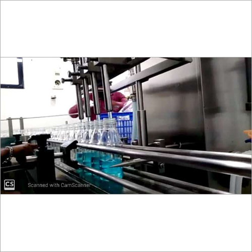 4 Head Volumetric Liquid Filling & Capping Machine