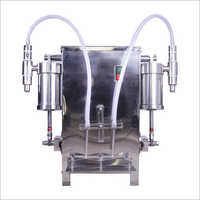 2 Head Volumetric Liquid Filling Machine