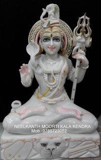 Lord Shiva Marble God Statue