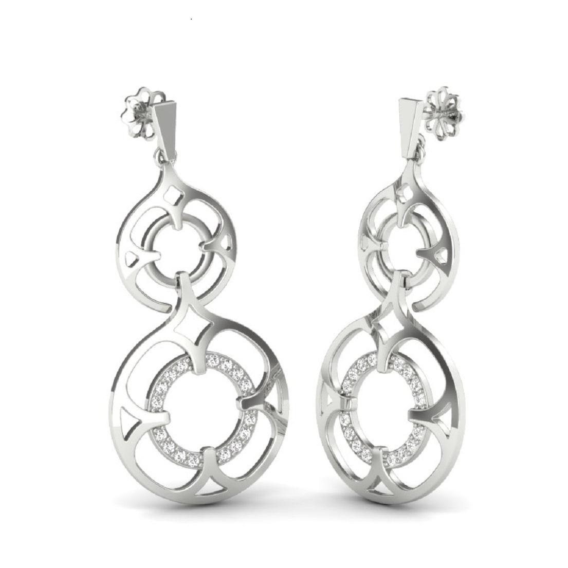92.5 Silver Earring