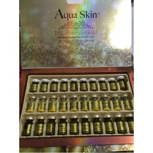 Aqua Skin 18K Everose Gold Glutathione Injection