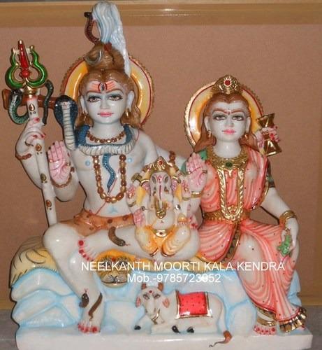 Statue Shiv Parvati Export