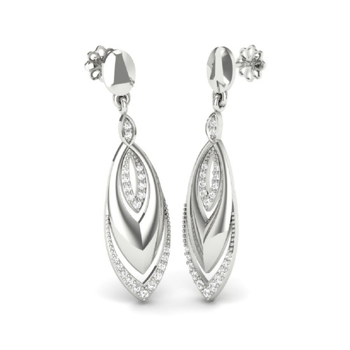 92.5 Silver Drop Earrings