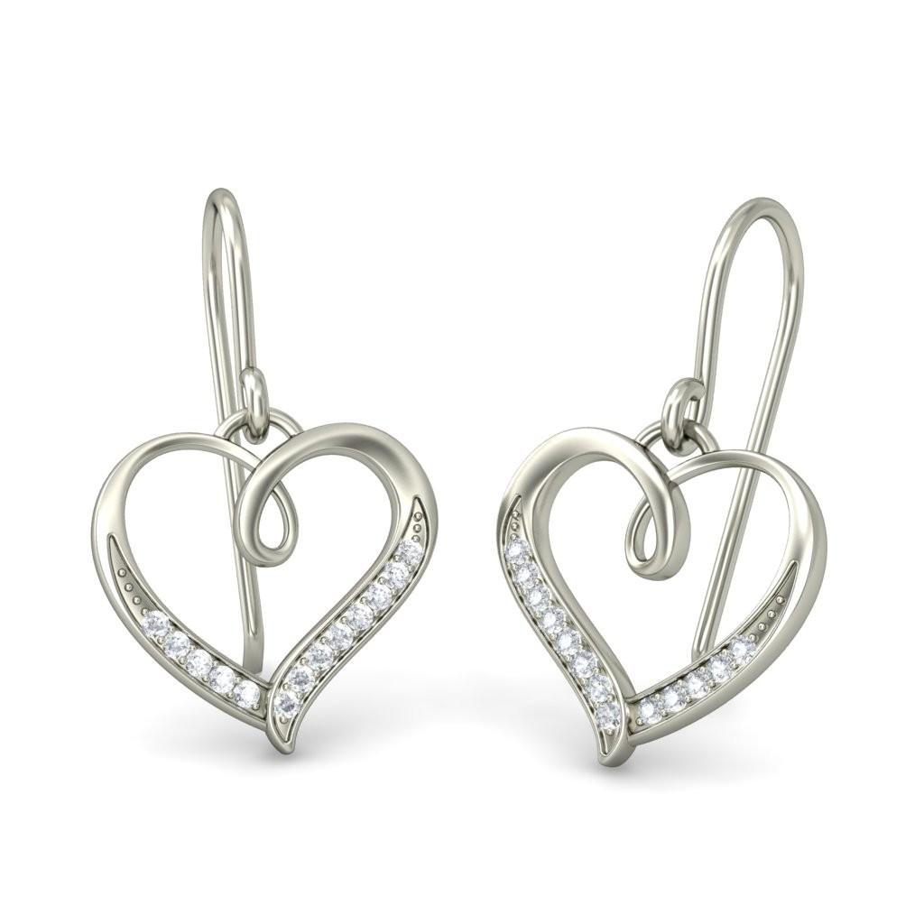 92.5 Silver Drop Earrings