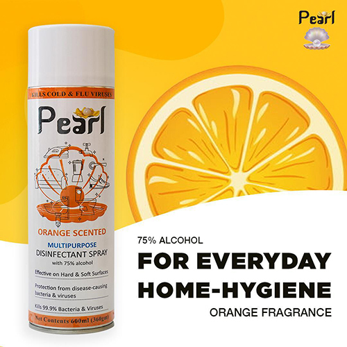 Orange Scented Multipurpose Disinfectant Spray