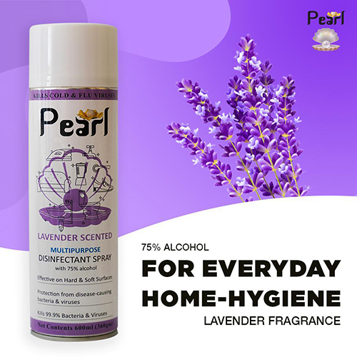 Lavender Scented Multipurpose Disinfectant Spray