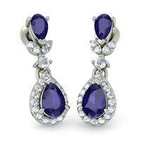 Silver 92.5 Drop Earrings