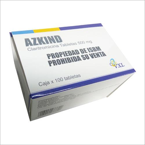 500mg Claritromicina Tablets