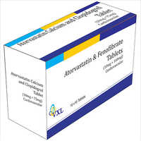 10 mg Atorvastatin and Fenofibrate Tablets
