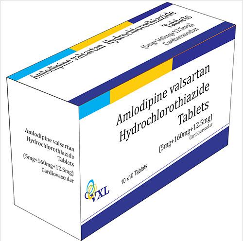 Amlodipine Valsartan Hydrochlorothiazide Tablets